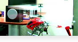 Flying Syma S107 Helicopter Images