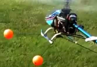 rc helicopter test flight