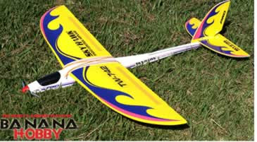 sky hawk electric glider