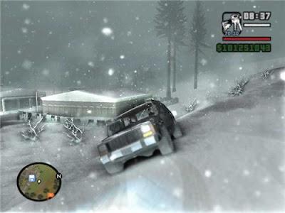 gta san andreas mods. GTA San Andreas ( Snow Mod )
