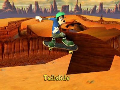 لعبة التزلج المغامرات السكوتر Goofy
