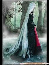 Princesa de pelo blanco