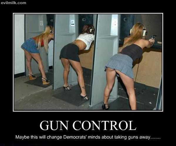 nothin sexier woman firing range