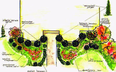 Formal Garden Design on Simple Formal Design For Princeton Hills Manor