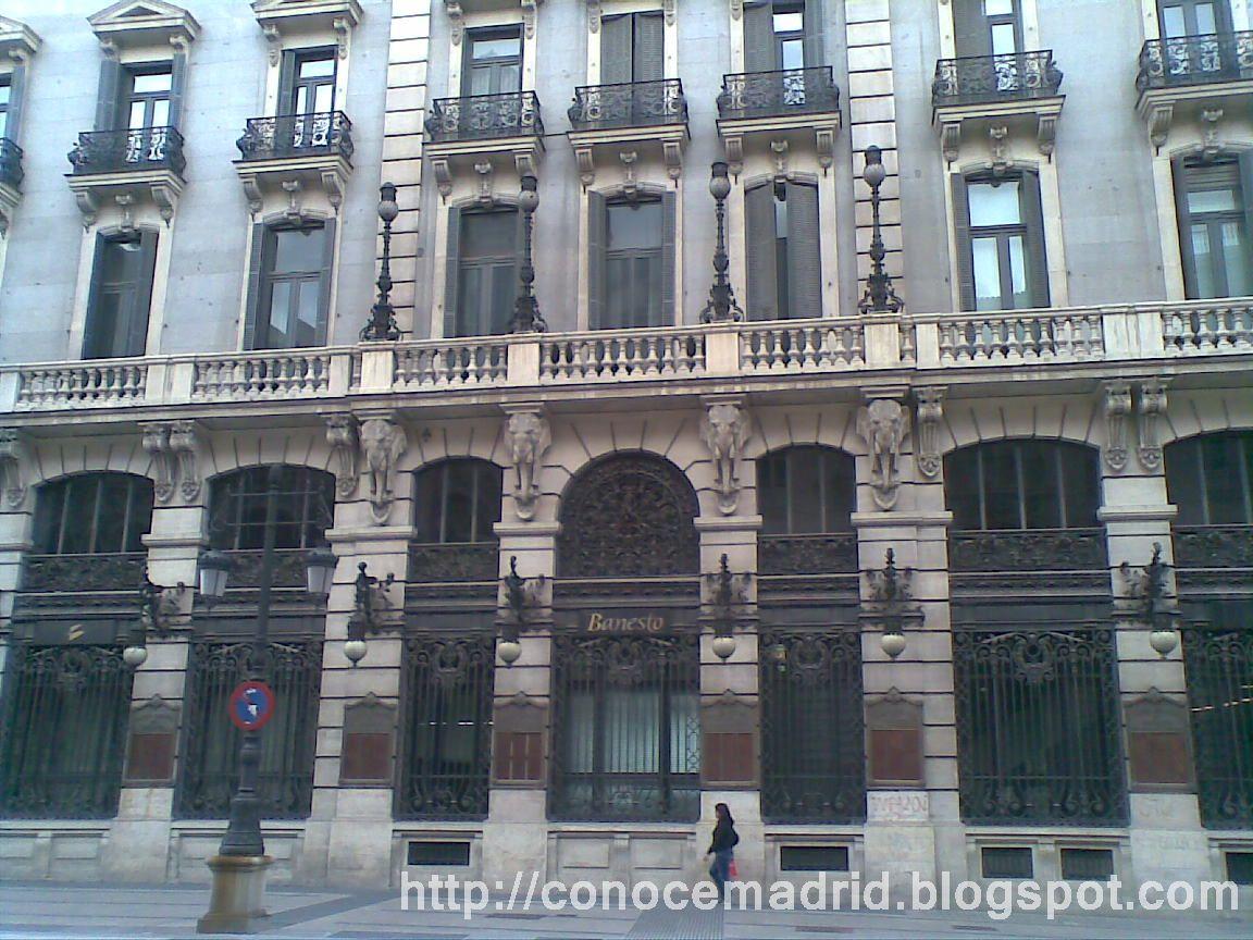 Conocer madrid el madrid financiero de finales del siglo for Banco santander bilbao oficinas