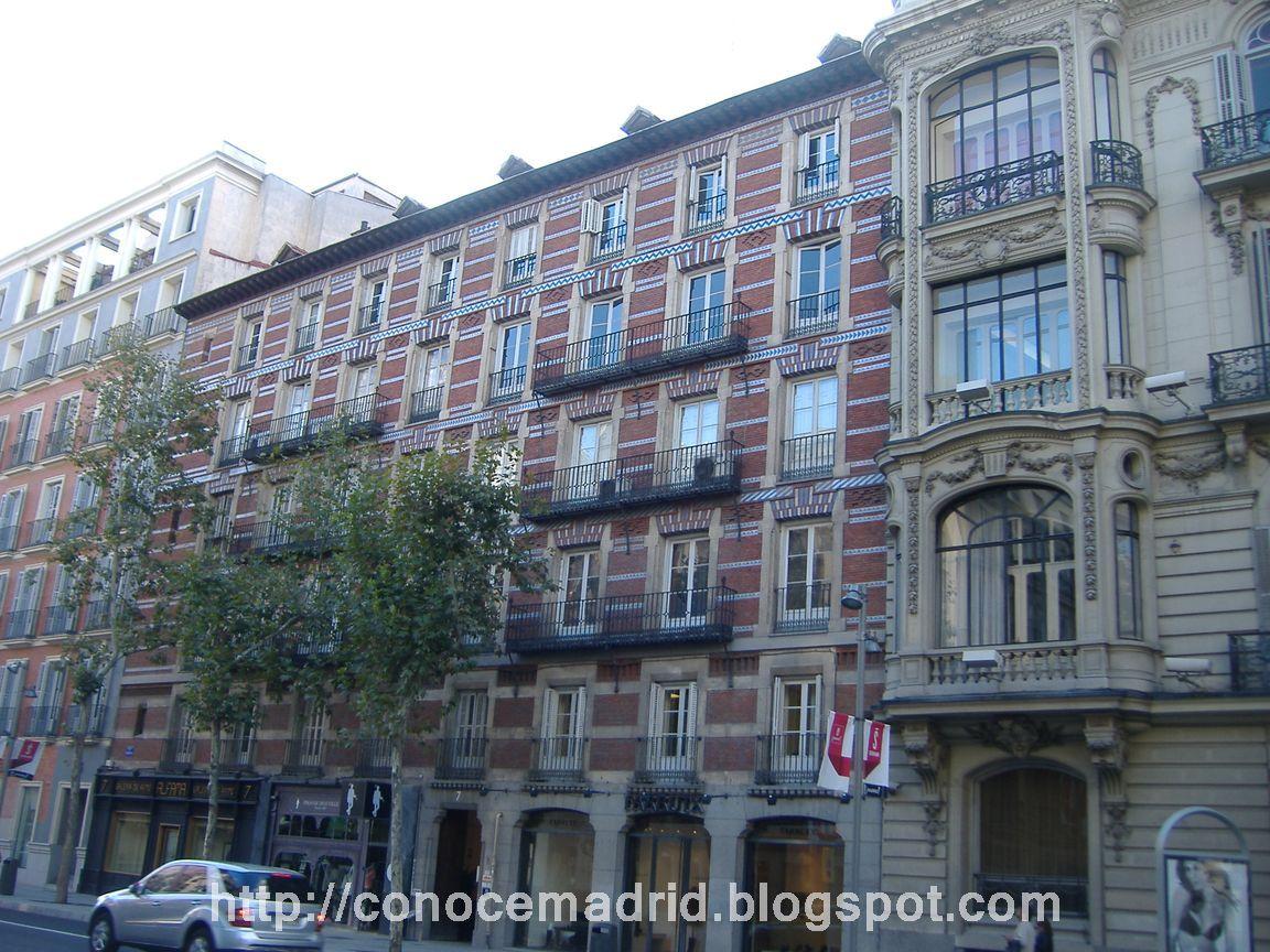 Conocer madrid calle serrano - El escondite calle villanueva ...