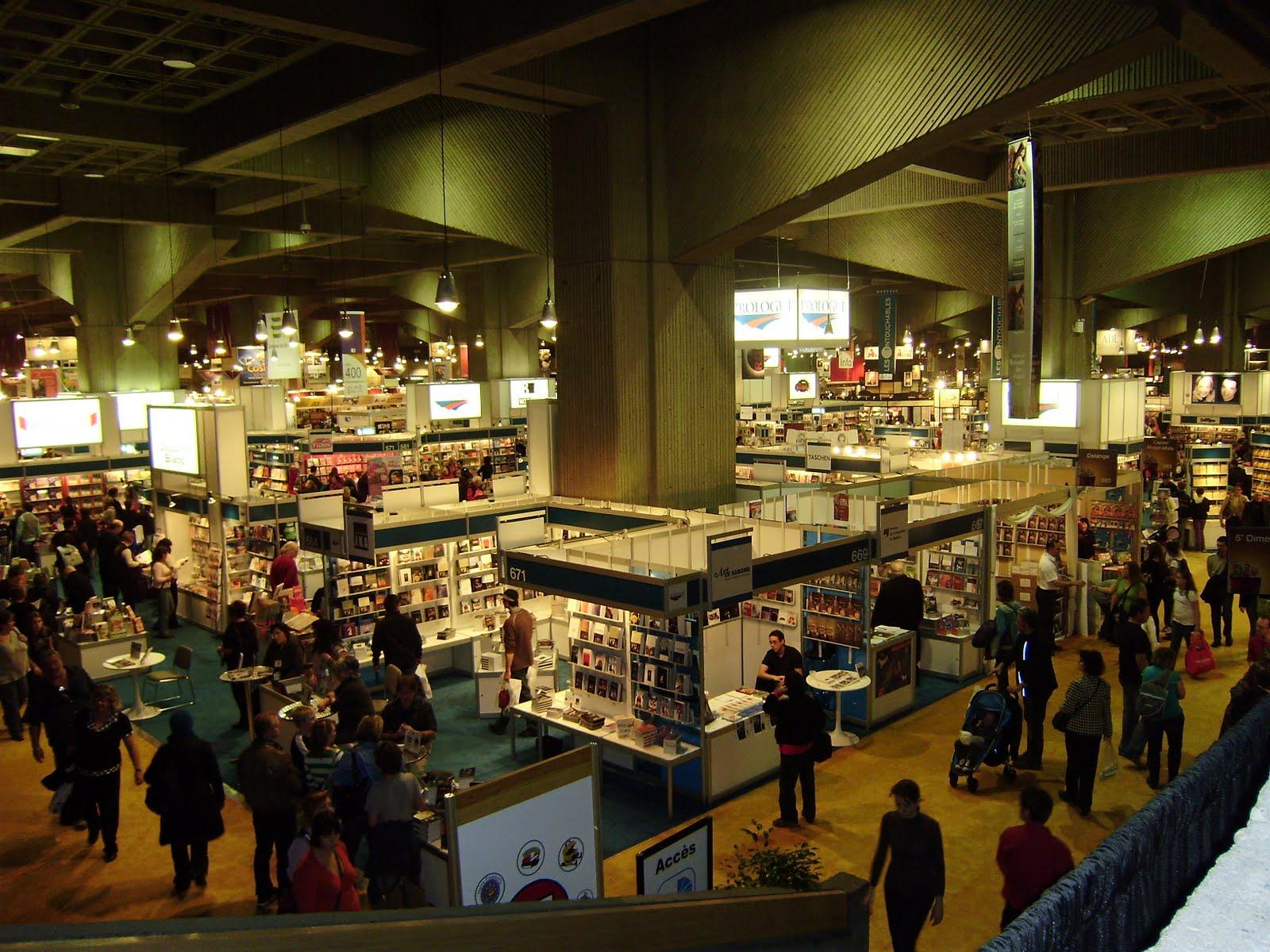 La Feuille dérable: Le SALON DU LIVRE de Montréal (suite et fin)