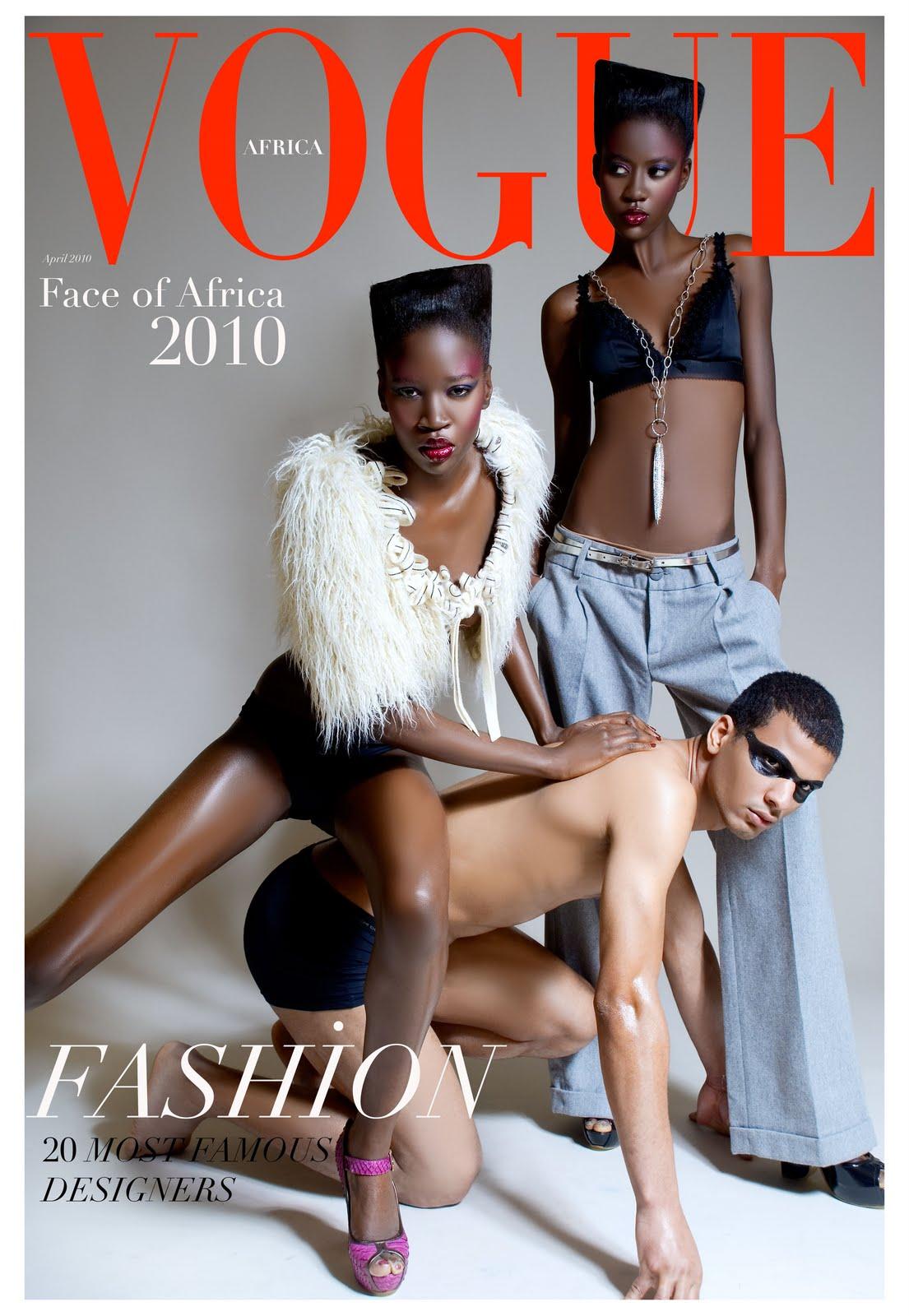 Vogue%2BAfrica%2B6 Adriana Lima hot XXX adult