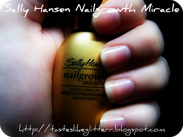 Sally Hansen Nail Growth Miracle.
