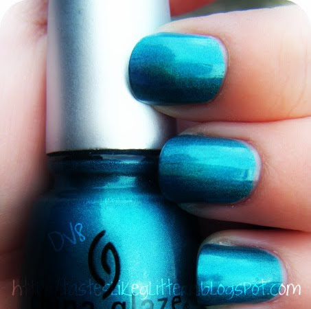 China Glaze - DV8 / Giveaway Update.