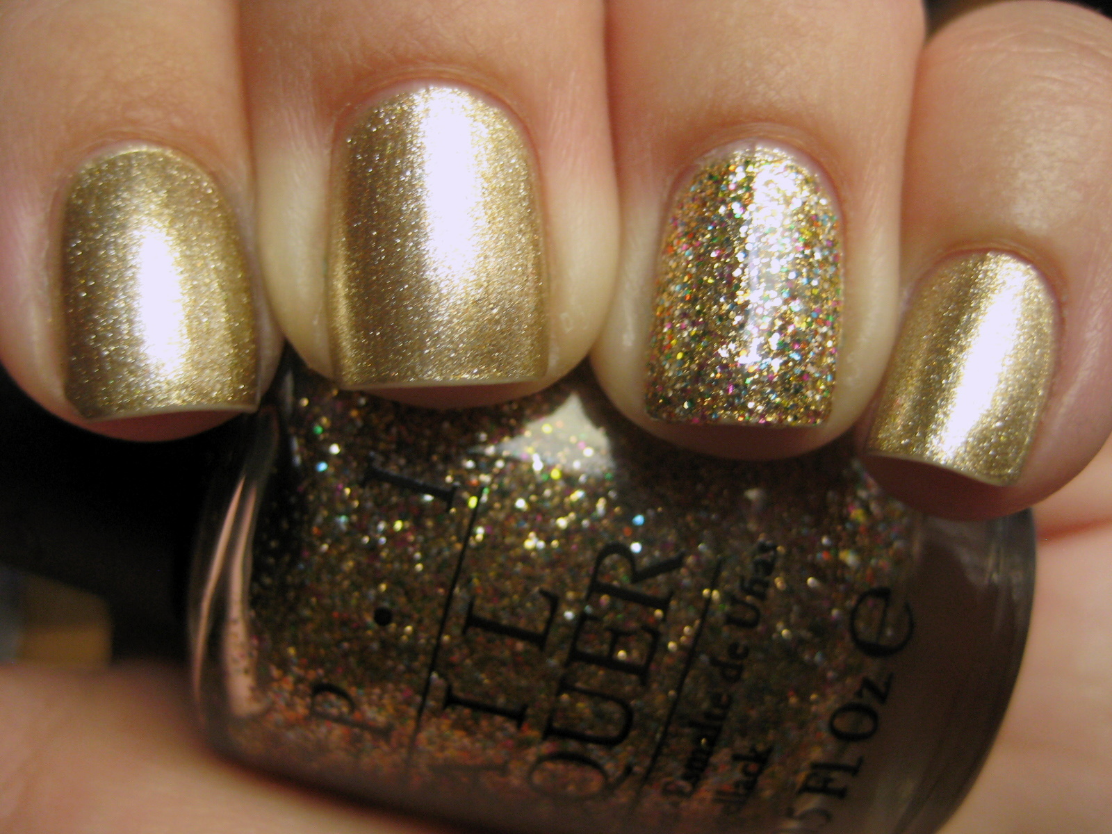 Goose's Glitter: OPI Glitzerland and Bring on the Bling