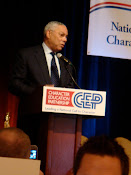Colin Powell, Keynote Character Ed. Conference
