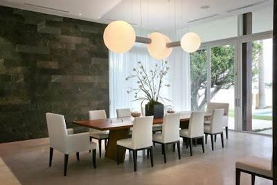 decoração de salas de jantar