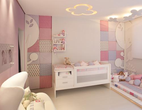 Papel de parede para quarto de beb for Eco design per la casa