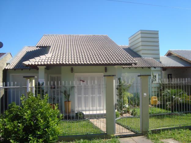 Fachadas de casas modernas com telhado colonial | Telhados