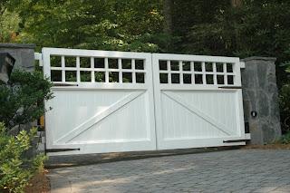 pagar gerbang rumah nan menawan