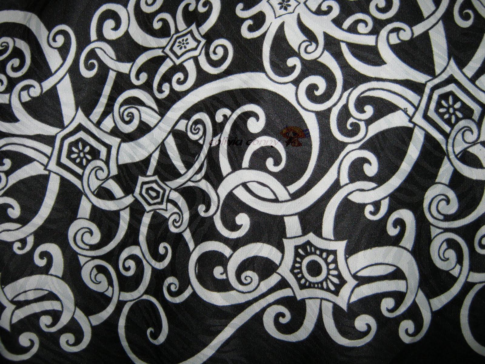 Colivia Collection: BATIK CORAK ORANG ULU ( SUTERA SARAWAK )