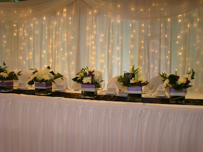 Furry Creek wedding decoration