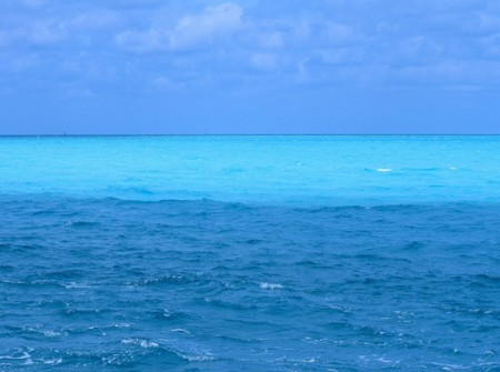 Ocean water is salty as minerals get dissolved into the rain water
