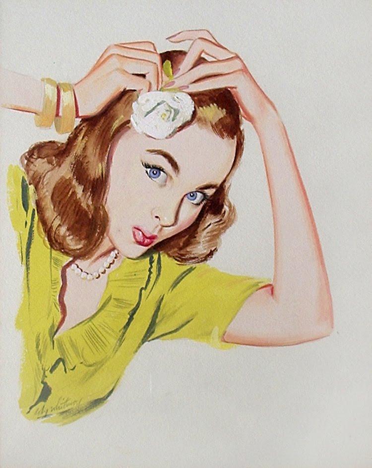 Coby Whitmore - 上个世纪五六十年代的手绘插画,现在看来仍是帅的一塌糊涂! - casper - 二手书店正式开张*