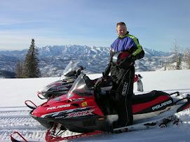 John snowmobiling