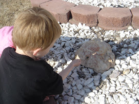 Look grandma there is a hole in this rock
