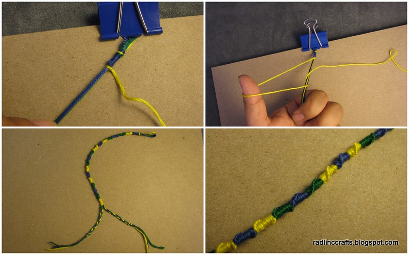 Rad Linc Crafts Chinese Staircase Friendship Bracelet