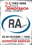 25 años de Democracia