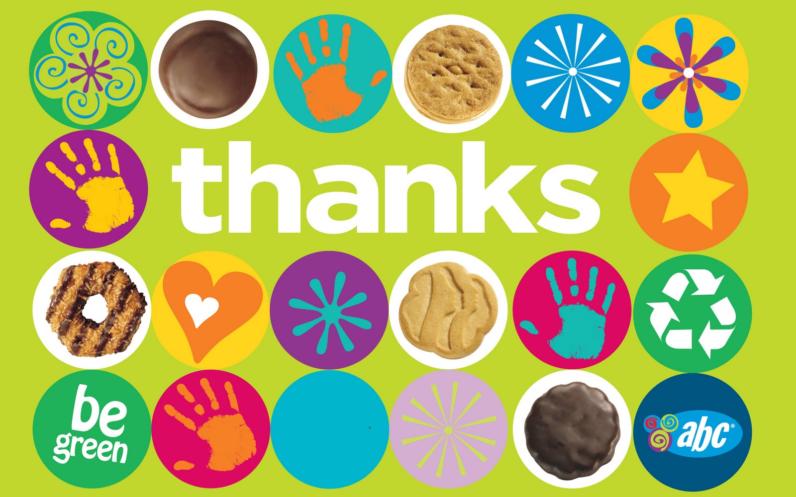 girl scout cookie thank you notes download foto gambar