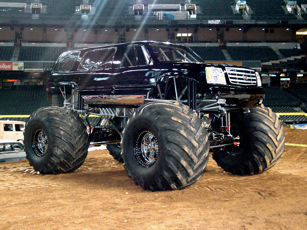 of monster trucks