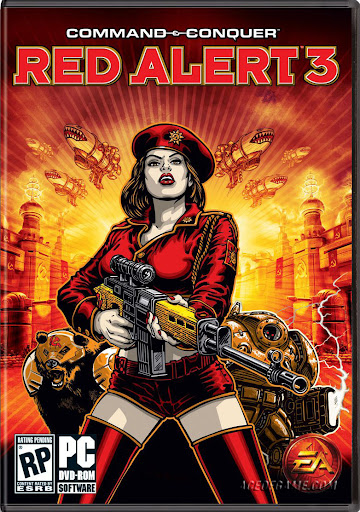 Command and Conquer: Red Alert 3 [Estrategia][Español][MU] Caratula+Cover+Command+and+Conquer_Red+Alert+3