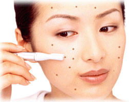 Products that cover facial redness