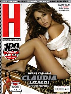 Claudia Lizaldi en Revista H