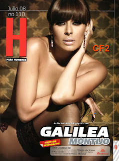 Galilea Montijo En Revista H
