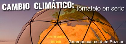 CAMBIO CLIMTICO:Tmatelo en serio