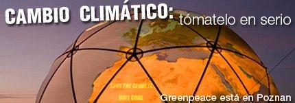 CAMBIO CLIMÁTICO:Tómatelo en serio