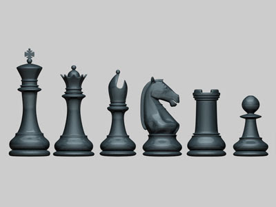 3D Models - Chess