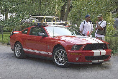 """Shelby Mustang GT500, Expedition and Escape Hybrid co-star in """"I Am Legend."""""""