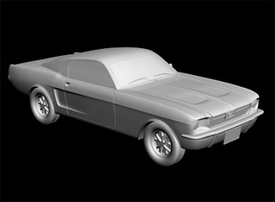 Tutorials - 3D Car Modeling (Ford Mustang)