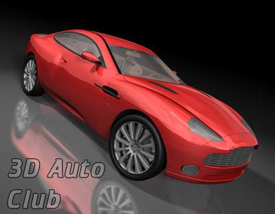 3D Models - Aston Martin V12 Vanquish