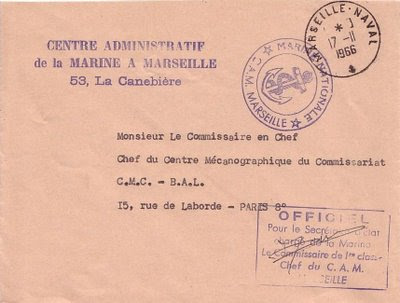La poste aux armees le bureau postal naval de marseille - Bureaux de poste marseille ...