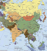 Asia is the continent most of the world's largest.