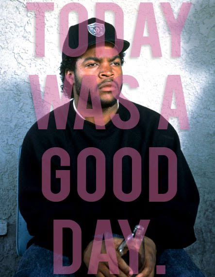 Ice Cube Today Was A Good Day Car A Giant Screamer says,...