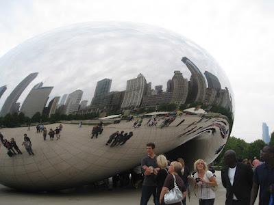 chicago cloud gate statue the bean