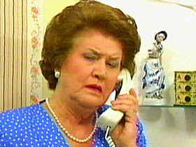 I didn't actually look for nude pictures of Patricia Routledge on the web, but the idea that I could should be enough to unsettle your dreams for a few nights.