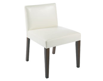 Susan on design get the look black and white for Low back parsons dining chair