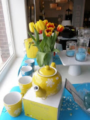 Cheery Spring Window Display