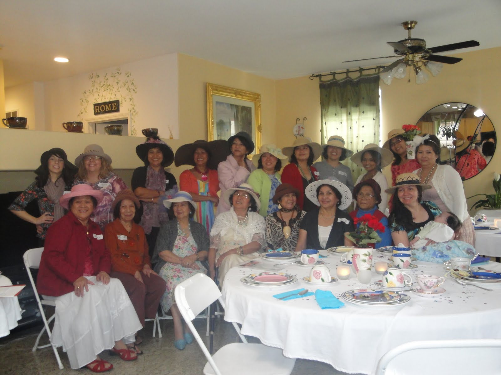 Women's Ministry Tea Party