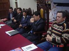 Presentación de POEMAS DEL SUR de Dante Lecca. Municipalidad de Chimbote.