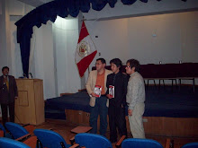 PRESENTACIÓN DE ILLARI, DE LUIS CASTROMONTE, AUDITORIO DE DERECHO DE LA UNASAM, HUARAZ